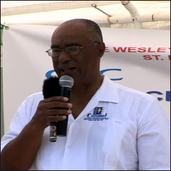 Nevis Premier - Joseph Walcott Parry
