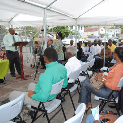 Nevis Premier Speaks At Fisheries Signing Ceremony
