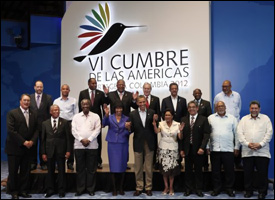 Caribbean Leaders With President Obama