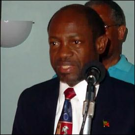 St. Kitts - Nevis - Prime Minister Douglas