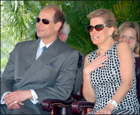 Prince Edward Expressed Thanks To St. Kitts – Nevis For Visit