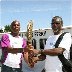 The Queen's Baton Arrives In Nevis