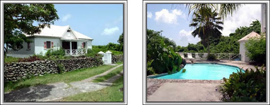 Nevis Villa Rental - Raintree House