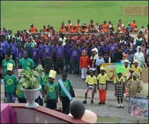 Nevis Primary School Children