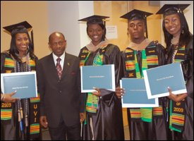 Recent UVI Graduates From St. Kitts