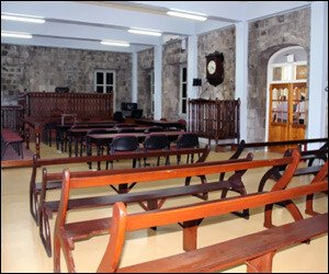 Nevis' Refurbished Courtroom