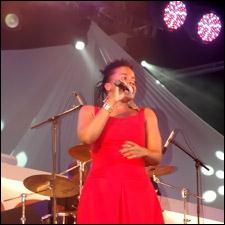 Reggae Singer Etana Performing In St. Kitts