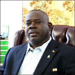 Nevis' Agricultural Minister - Robelto Hector