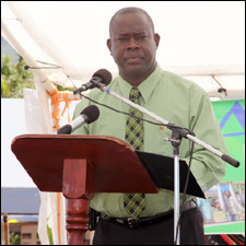 Robelto Hector - Nevis Agriculture Minister