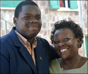 Rol-J Williams and Mother