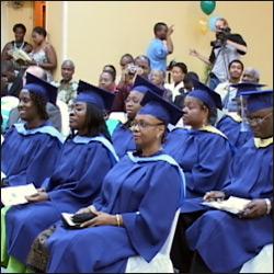 Ross University Employees Receive Degrees