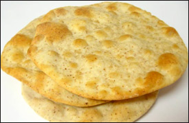 Traditional Roti Bread