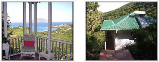 Nevis Cottage Rental - Round Hill Cottage