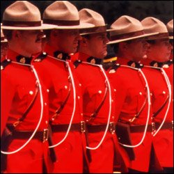 RCMP On Parade