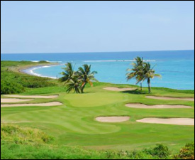 15th Hole at The Royal St. Kitts Golf Course