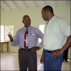Rupert Herbert and Glen Phillip