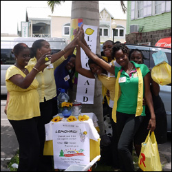 Rural Tourism Participants Sell Lemonade