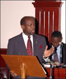 Saint Kitts - Nevis Prime Minister - Denzil Douglas