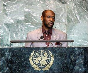 Sam Condor at The United Nations