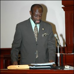 Hon. Sam Condor In The National Assembly