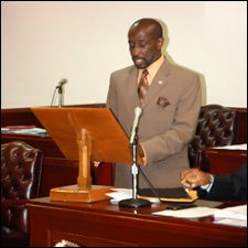 St. Kitts – Nevis' Minister Condor Deeply Concerned About Crime