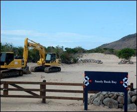 Sandy Bank Bay Construction Site