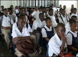 Sandy Point High School Students - St. Kitts
