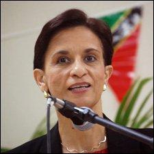 Leader of the Democratic Party of St. Maarten, Hon. Sarah Wescott-Williams