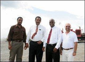 Dominca Officials Visit Geothermal Site