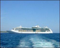 Sea Bourne Legend Off Nevis