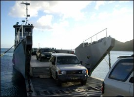 St. Kitts - Nevis Ferry Seabridge Docks
