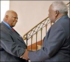 Sir Cuthbert and Cuban VP Esteban Lazon