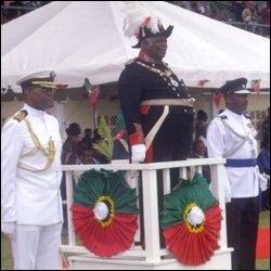 St. Kitts - Nevis' Governor General - Sir Cuthbert Sebastian
