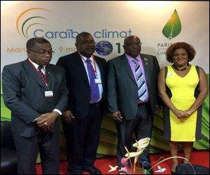 SKN Representatives - Climate Change Conference