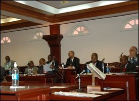 St. Kitts - Nevis' National Assembly