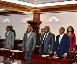 SKN Federation Parliament Members