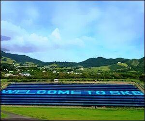 Solar Power Farm - St. Kitts Airport