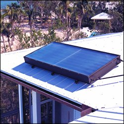 A Rooftop Solar Powered Water Heater