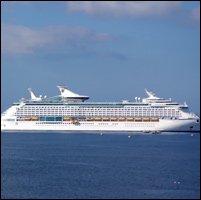 Solstice Explorer Departs St. Kitts