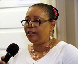 Director of Library Services - Sonita Daniel