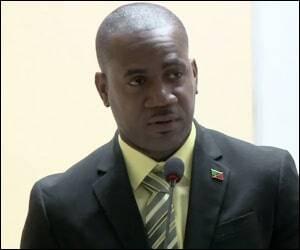Sports Minister - Shawn K. Richards