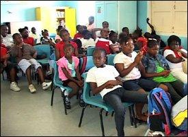 St. James Primary School Students