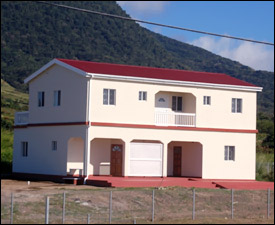 One of Two Buildings At The Agro-Tourism Demonstration Farm