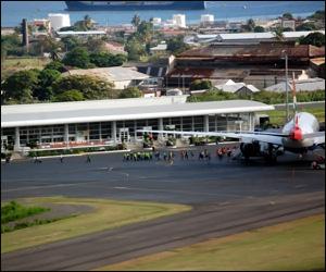 Air Passengers Arriving In St. Kitts