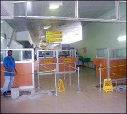Work Begins On Improving Departure Area