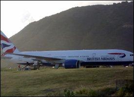British Airways London - St. Kitts Flight
