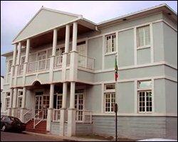St. Kitts Court House In Basseterre