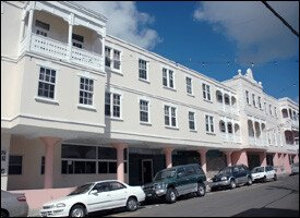 St. Kitts Government Headquarters In Basseterre
