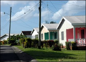 Low Income Houses - Newtown, St. Kitts