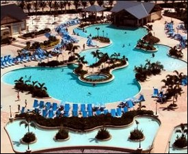 The Pool Complex At St. Kitts' Marriott Resort